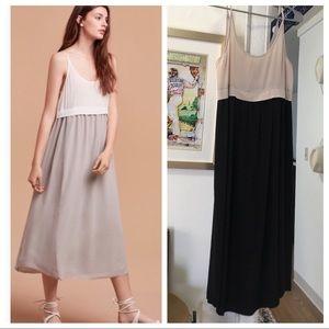 Aritzia Wilfred bisous silk dress